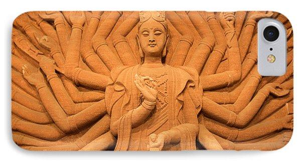 Guanyin Bodhisattva IPhone Case by Dean Harte