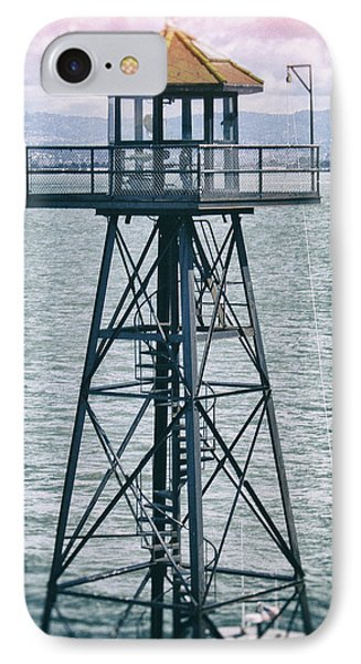 Guard Tower Alcatraz IPhone Case