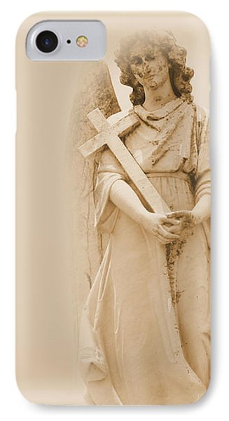 Guardian Angel IPhone Case by Nadalyn Larsen