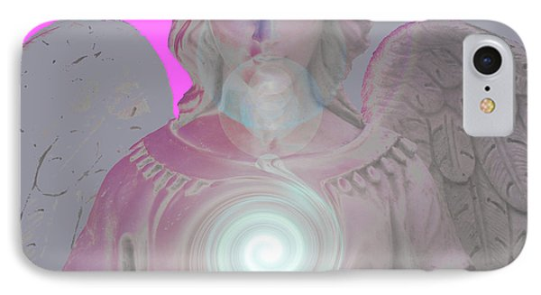 Guardian Angel No. 01 IPhone Case by Ramon Labusch