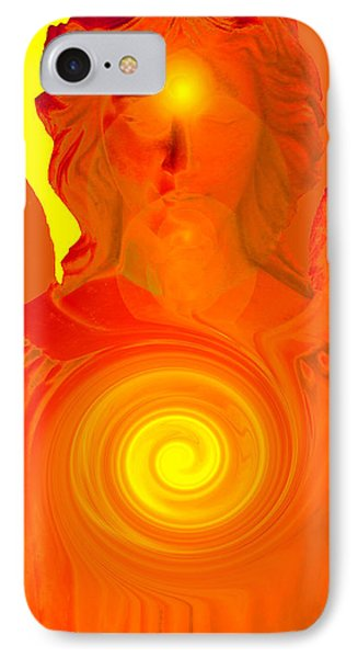 Guardian Angel No. 09 IPhone Case by Ramon Labusch