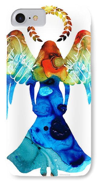 Guardian Angel - Spiritual Art Painting IPhone Case