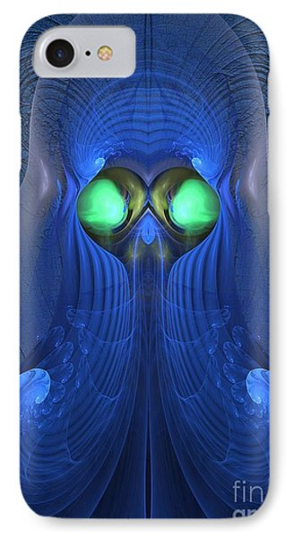 Guardian Of Souls - Surrealism IPhone Case by Sipo Liimatainen