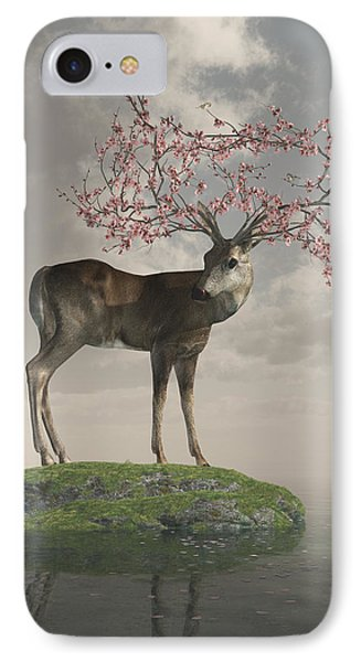 Guardian Of Spring IPhone Case by Cynthia Decker
