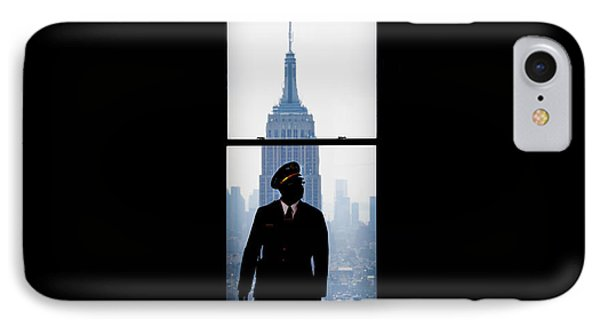 Guarding The Empire IPhone Case by Az Jackson