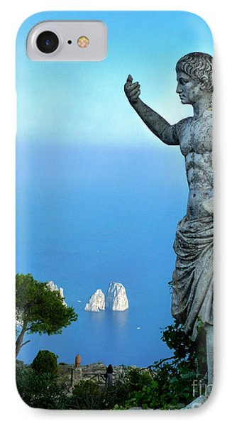 IPhone Case featuring the photograph Guarding The Water by Mike Ste Marie