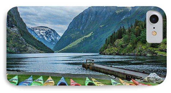 Gudvangen, Norway Fabulous Fjord Called IPhone Case by Bill Bachmann