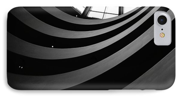 Guggenheim Inside 2 Phone Case by Becky Kozlen
