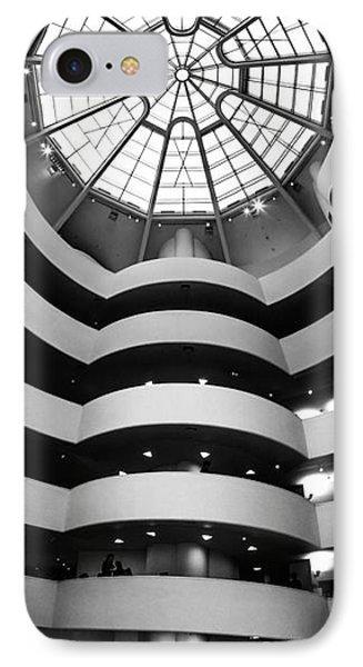Guggenheim Museum Ground Floor IPhone Case by Az Jackson