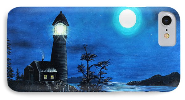Guiding Lights Phone Case by Barbara Griffin