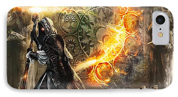 Guildscorn Ward IPhone 7 Case by Ryan Barger