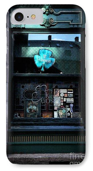 Guinness Shamrock Phone Case by John Rizzuto