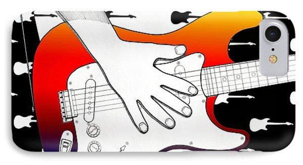 Guitar 1 Phone Case by Joseph J Stevens