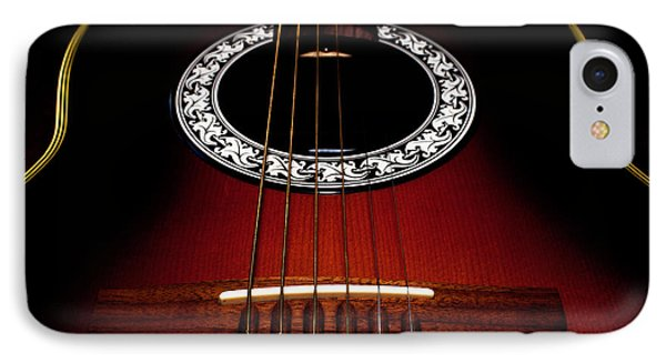 Guitar Abstract IPhone Case by Richard Stephen