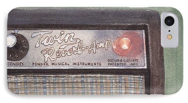 Guitar Amp Sketch IPhone Case