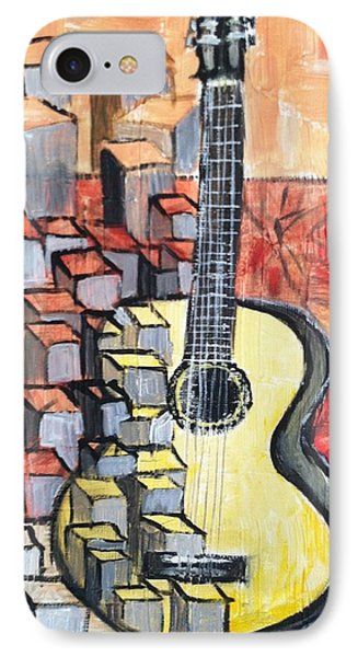 Guitar Phone Case by Asuncion Purnell