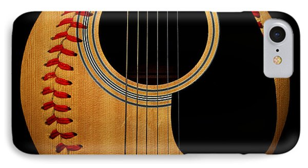 Guitar Baseball Square IPhone Case