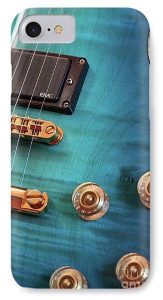 Guitar Blues Phone Case by Joy Watson