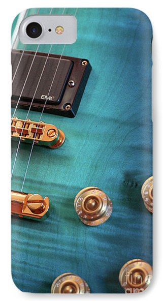 IPhone Case featuring the photograph Guitar Blues by Joy Watson