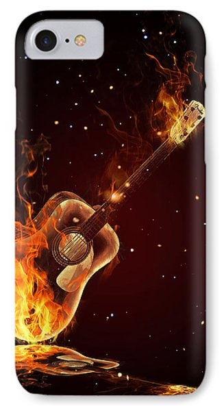 Guitar  IPhone Case by Mark Ashkenazi
