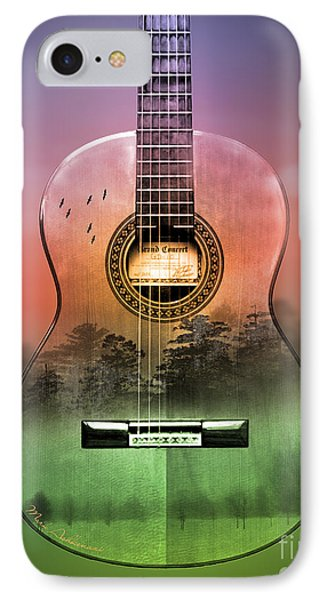 Guitar Nature  IPhone Case by Mark Ashkenazi