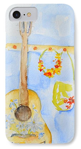 Guitar Of A Flower Girl IPhone Case by Patricia Awapara