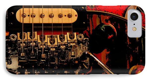 IPhone Case featuring the photograph Guitar Pickup by John Stuart Webbstock