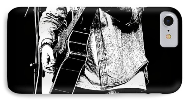 Guitar Player IPhone Case