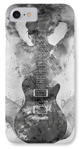 Guitar Siren In Black And White IPhone 7 Case