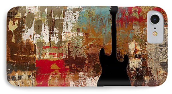 Guitar Solo IPhone Case by Carmen Guedez