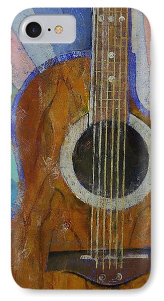 Guitar Sunshine Phone Case by Michael Creese