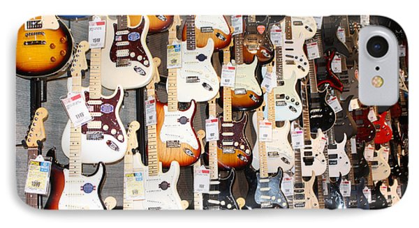 Guitar Wall Of Fame IPhone Case