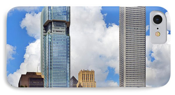 Gulf Building Houston Texas IPhone Case by Christine Till