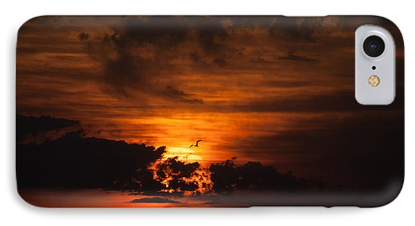 Gulf Coast Sunset 1 IPhone Case by Richard Mason
