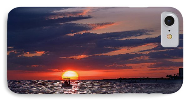 Gulf Coast Sunset IPhone Case by Laura Fasulo
