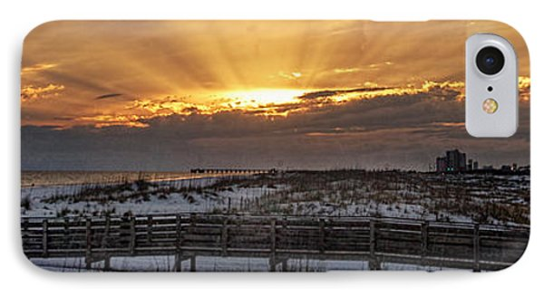 IPhone Case featuring the digital art Gulf Shores From Pavilion by Michael Thomas