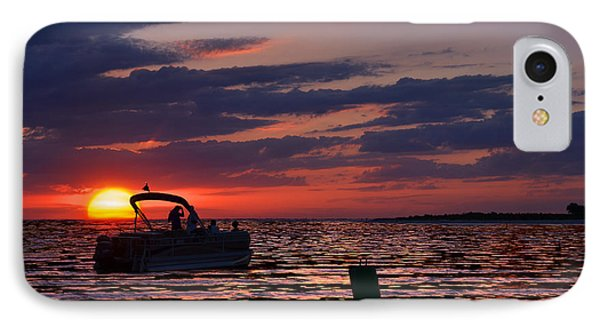Gulf Sunset IPhone Case by Laura Fasulo