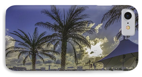 Gulfport Harbor View IPhone Case by Brian Wright
