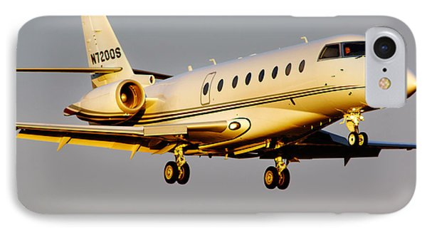 Gulfstream 200 IPhone Case by James David Phenicie