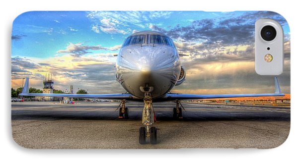 Gulfstream Gx450 At Livermore Klvk With Virga IPhone Case
