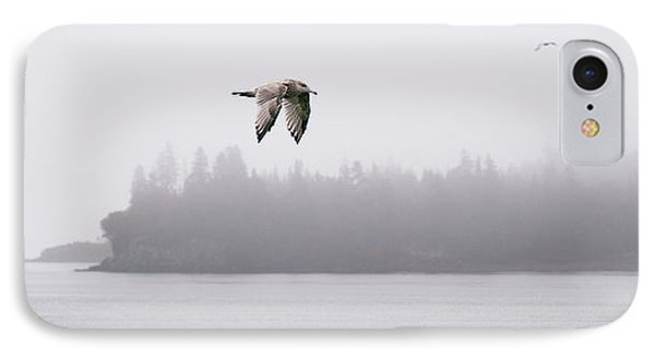 Gull In Flight IPhone Case by Marty Saccone