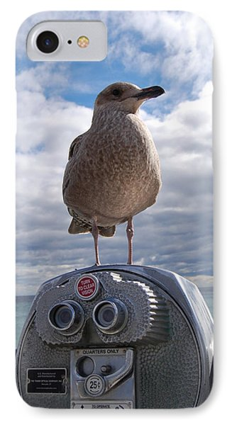 IPhone Case featuring the photograph Gull by Mim White