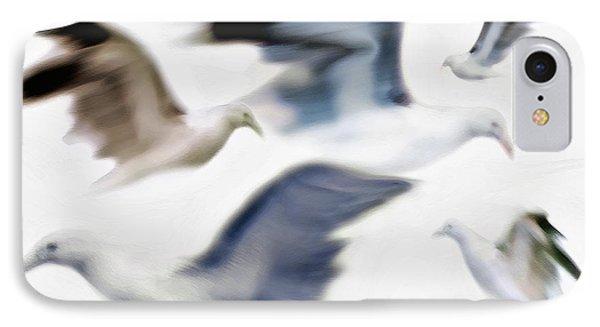 Gulls 2 IPhone Case by Steve Ohlsen