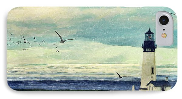 Gulls Way Phone Case by Lianne Schneider