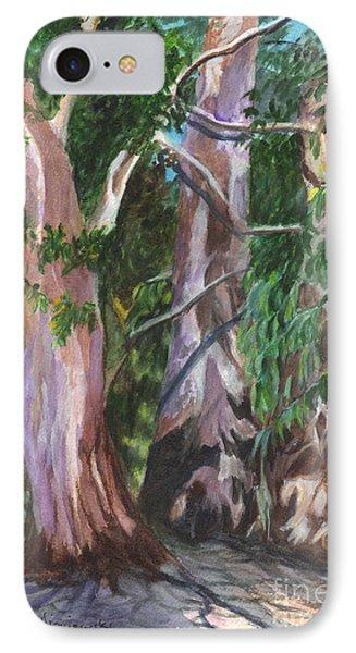 Gum Trees In Oz Phone Case by Carol Wisniewski
