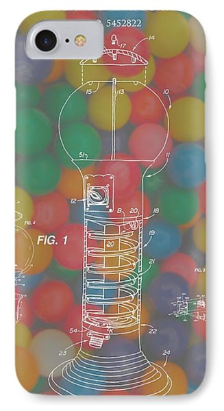 Gumball Machine IPhone Case by Dan Sproul