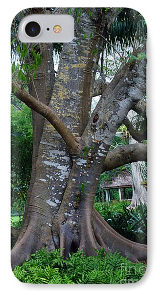 Gumby Tree IPhone Case by Judy Wolinsky