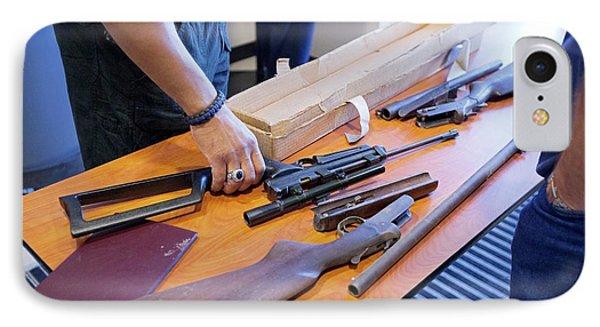 Gun Amnesty IPhone Case by Jim West