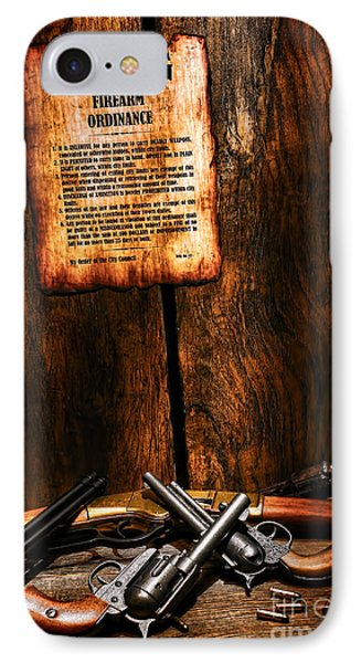 Gun Control IPhone Case by Olivier Le Queinec