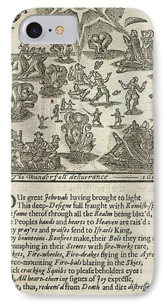 Gunpowder Plot IPhone Case by British Library